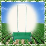 FS182 12L Fertilizer Sreader/ Salt Spreader / Salt Godningspreder/Garden Spreader with Aluminum Handle Bar/Lawn Seed Salt Spreader